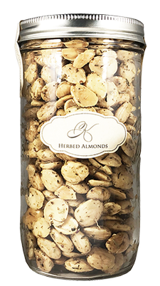 XL Herbed Almonds (24oz jar)
