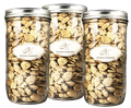 3 Xtra Large Almond Jar Bundle Set